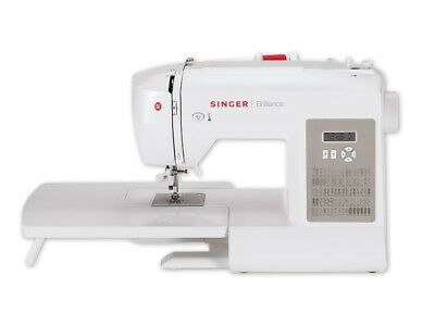 Maquina Coser Singer Brilliance 6180 Pantalla Digital Lcd Costura New Oferta