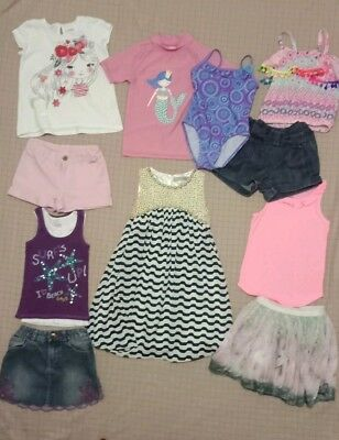 Girls Clothes Size 4 Bulk Pack With 11 Items Inc Barbie