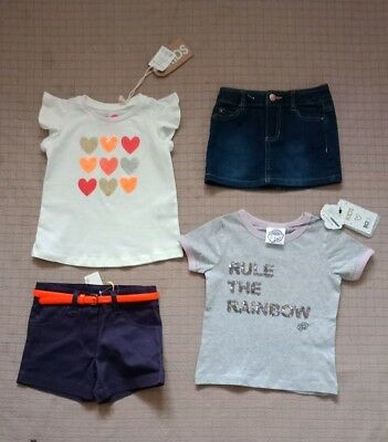 Girls Clothes Size 2 ..All New With Tags From Cotton On Kids