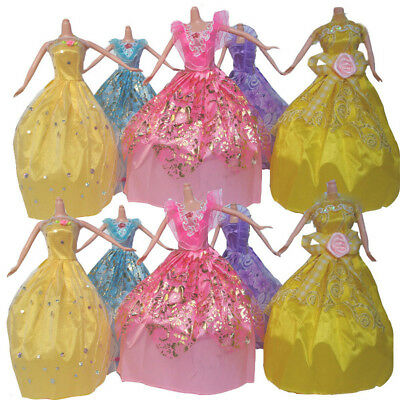 Womail 5Pcs Doll Accessory Lovely Wedding Dress Clothing For 28cm Doll Girls'