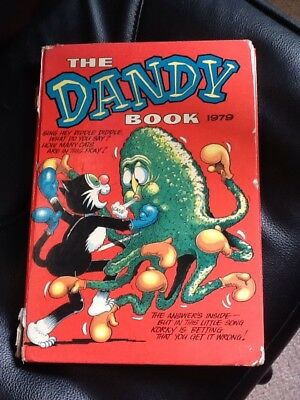 The Dandy Book 1979,Vintage Comic Book Annual