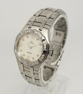 Concord Saratoga 14.25.1833 S Diamond Stainless Steel Swiss Quartz Ladies Watch