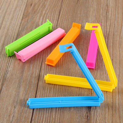 Clip Clasp Storage Food Snack Seal Sealing Bag Clips Sealer Clamp Plastic Tool