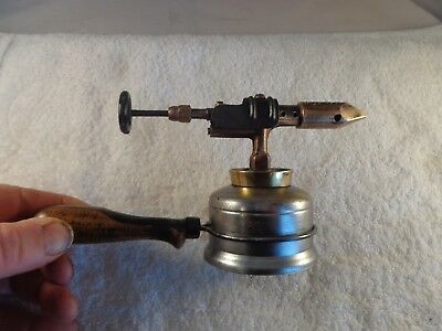 Old Antique or Vintage Small Mini Blow Torch Collectible Rare Collectible Tools