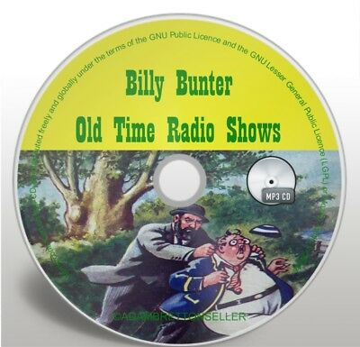 Billy Bunter - 30 OTR Classic Comedy Old Time Radio Shows - Audio MP3 CD