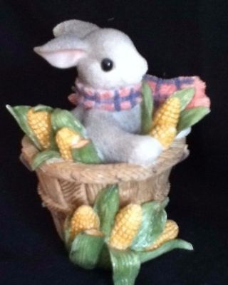 My Blushing Bunnies By Priscilla Hillman - A Sweet Basket Of Blessings