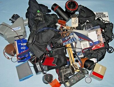 #l1 - A Joblot Of Camera  / Photo Bits And Accessories