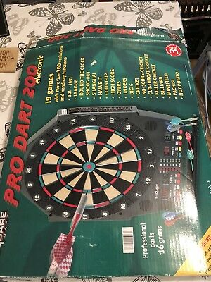 Electronic Dart Board 6 90 Picclick Uk