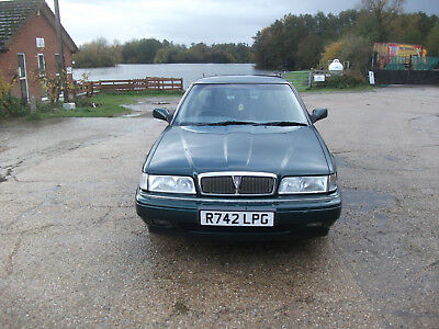 1998 CLASSIC ROVER 820i AUTO FASTBACK IN BRITISH RACING GREEN - LOW MILES & MOT!