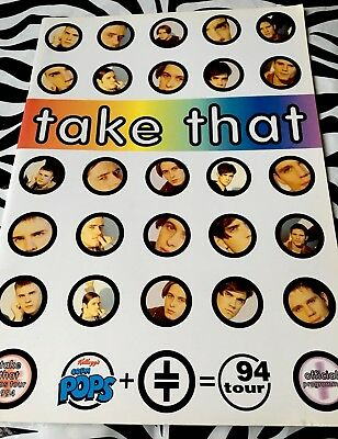 Take That - Rare 1994 Tour Programme