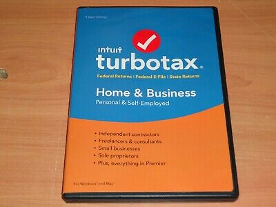 LOOK:  *Retail CD* 2016 INTUIT TURBOTAX HOME & BUSINESS FEDERAL Plus STATE CD