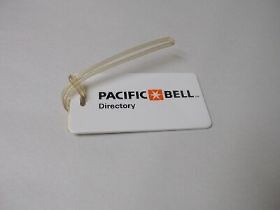 Vintage Pacific Bell Directory Promotional/Advertising Luggage Tag
