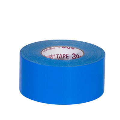 "CASE Nashua 398 Professional Duct Tape BLUE 72mm x 50M (3"" x 55yds) 8 Rolls"
