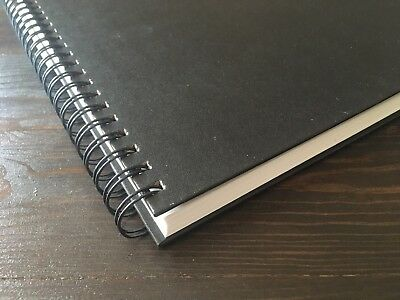 "Hardcover Sketch Book 60lb Paper Hardbound Value Pads 9""x12"" 80 Sheets"