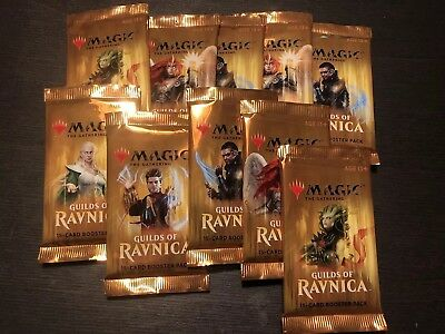 Magic the Gathering MtG Booster Guilds of Ravnica 10 Stück Englisch