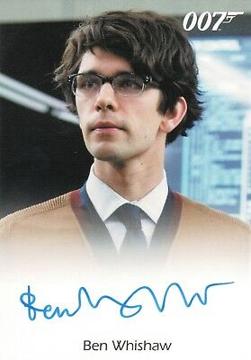 James Bond Classics 2016 Ben Whishaw 'Q' in Skyfall Autograph Card
