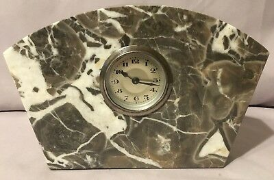 Foreign - German - Art Deco Marble Clock