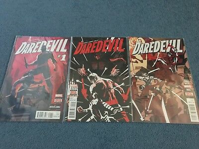 Issues 1-3 - Daredevil - Marvel Comics - Great Condition - Comic Books - Soule