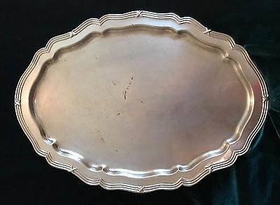 Vintage Silverplated Serving Tray