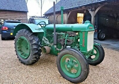 Wartime Standard Fordson N Tractor SR43 Ploughing Vintage Antique TVO Recon Mag