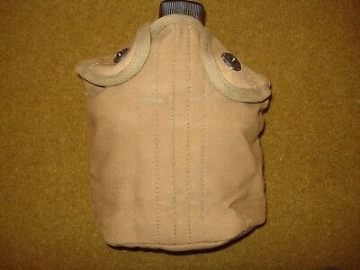 WWII US Army/USMC Vollrath 1945 Canteen,1941 L.F&C Cup and Canvas Cover