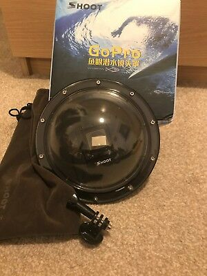 Shoot 6 inch Dome Port with Case for GoPro Hero 3+ 4 PF