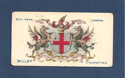 CITY of LONDON COAT of ARMS Beautifully printed original 1905 print vintage card