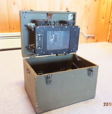 WWII US Army Air Forces Astrograph Type A-1  Kodak,   In Original Box