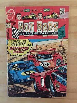 Hot Rods And Racing Cars #112 (Charlton Comics 1972) F+ Copy