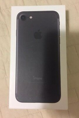Empty Box Only for Apple iPhone 7 Black 32GB No phone / No accessories
