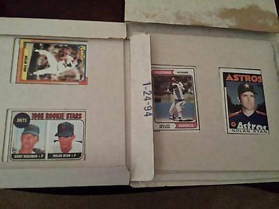 Hess Like, Price Reduced, Nolan Ryan Collectors Edition Cards, Coa's Included