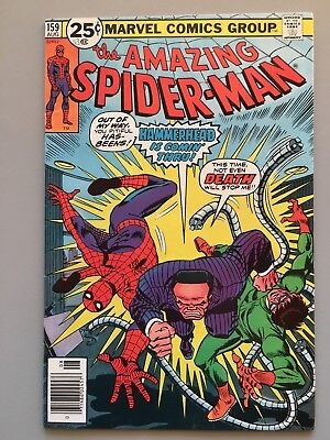 Amazing Spider-Man 159 (VF  1976) Dr Octopus; Hammerhead; Toy (1st Appearance)