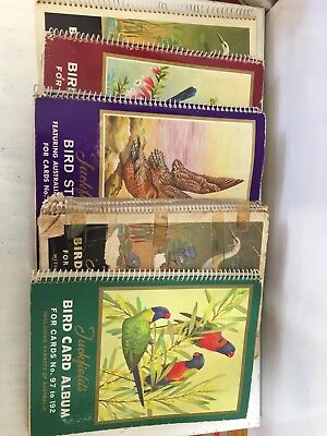 Vintage Tuckfields Bird Card Albums X 5 FREE POST In Australia