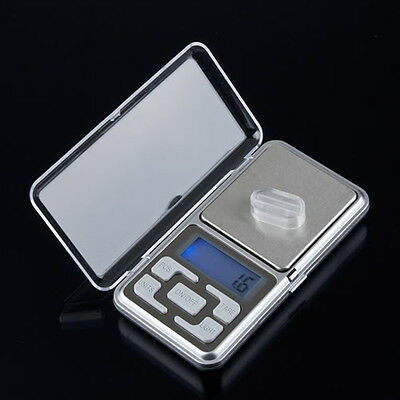 500g/0.1g Mini Digital LCD Electronic Jewelry Pocket Portable  Scale Best LS#