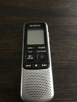 Sony ICD-BX140 4GB Digital Voice Recorder PREOWNED V