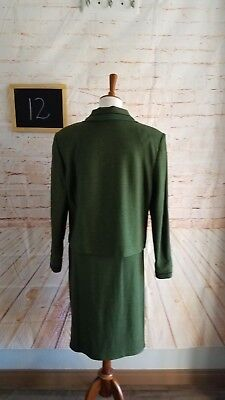 St. John Collection by Marie Gray Green & Blue Knit In Excellent Condition