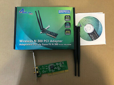 AIRLINK101 AWLH6075 WIRELESS N PCI ADAPTER WINDOWS 8 DRIVERS DOWNLOAD (2019)