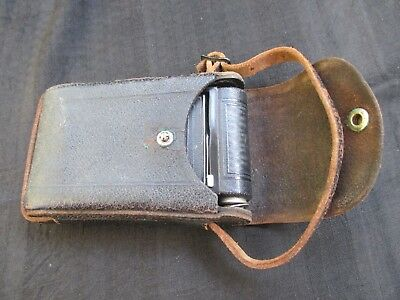 Vintage Kodak Vest Pocket B 27323 w/ Partially Used Film Leather Carrying Case