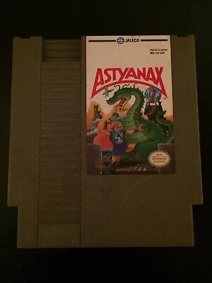 Astyanax (Nintendo Entertainment System - NES 1990) CLEANED & TESTED