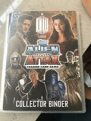DOCTOR WHO  / ALIEN ATTAX  Trading Card Set of  189 Of 240