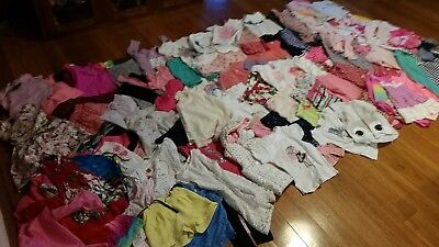 Bulk girls clothing - winter and summer sizes 4-6 - over 50 items of clothing