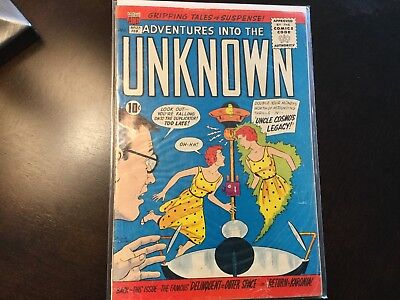 acg adventures into the unknown #122 VG