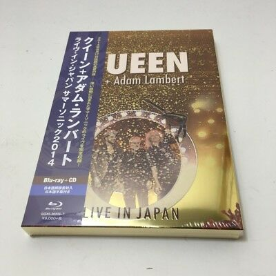 QUEEN ADAM LAMBERT LIVE IN JAPAN 2014 JAPAN CD+BLU-RAY First Press Free Shipping