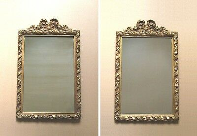 Pair of Vintage Ornate French Mirrors