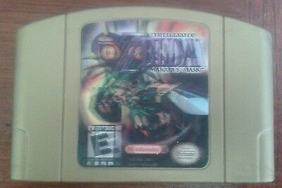 Nintendo 64 N64 The Legend of Zelda: Majora's Mask Holographic Edition Cartridge