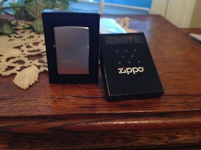 Vintage ???? Zippo Lighter Grove Heavy Equpment Never Been Used Wow