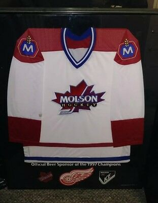Molson Canadian Hockey 1997 Championship Stanley Cup OFFICIAL Beer Merchandise