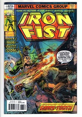 IRON FIST #73 Reg & Mike PERKINS Lenticular Variant SET Marvel Comics Legacy NM!
