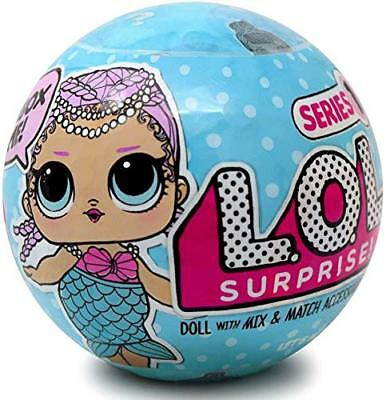 LOL SURPRISE Doll Series 1 L.O.L 1 Ball 100% Authentic 7 Layers Blue Ball