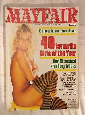 2 Assorted Mayfair magazines Pre-owned